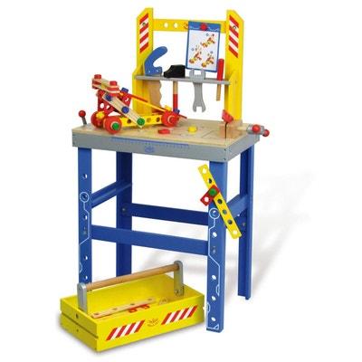 Etabli : Grand Etabli Batibloc et son tiroir boîte à outils Etabli : Grand Etabli Batibloc et son tiroir boîte à outils VILAC