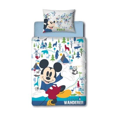 Parure de lit Junior Mickey Mouse Wanderer Disney Parure de lit Junior Mickey Mouse Wanderer Disney MICKEY