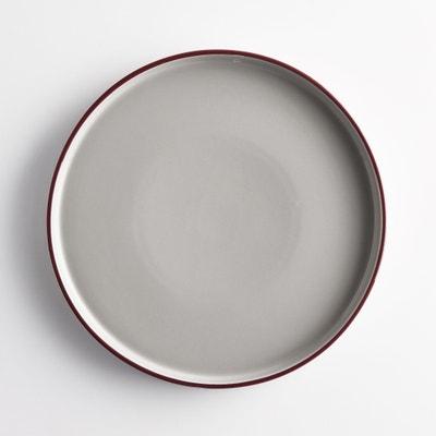 Set of 4 Driskol Ceramic Dinner Plates Set of 4 Driskol Ceramic Dinner Plates La Redoute Interieurs