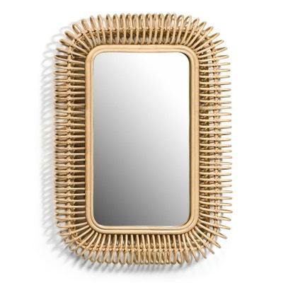 Espelho em rotim, comp. 90 x alt. 60 cm, Tarsile Espelho em rotim, comp. 90 x alt. 60 cm, Tarsile AM.PM.