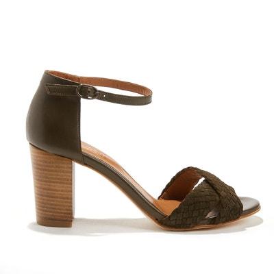 Sandales cuir de vache AMELIE ANTHOLOGY PARIS