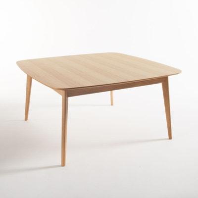 Table chêne carrée 8 couverts, Biface Table chêne carrée 8 couverts, Biface La Redoute Interieurs