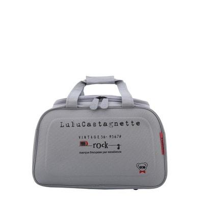 Sac de voyage cabine Lulu Castagnette 50cm Light Grey LULU CASTAGNETTE