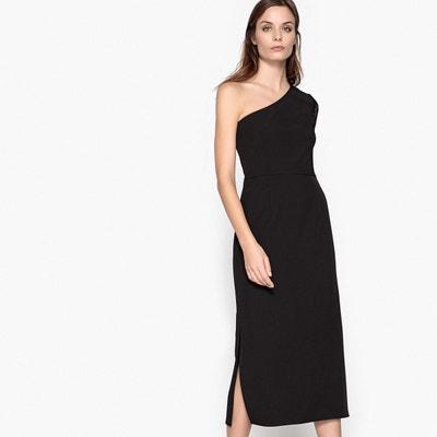 Robe longue épaule dénudée, manche dentelle LA REDOUTE COLLECTIONS 8d8000165952