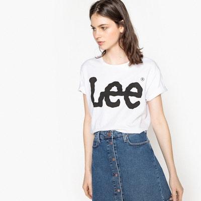 T-shirt met ronde hals LEE
