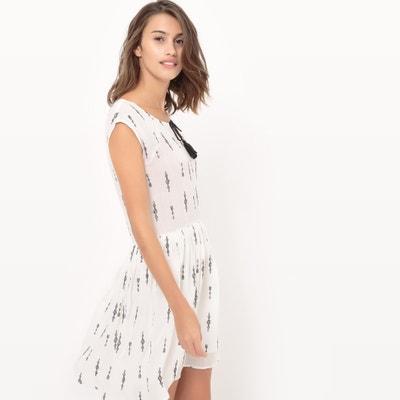Short-Sleeved Print Dress LE TEMPS DES CERISES