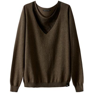 Cotton/Cashmere Low V-Neck Jumper Cotton/Cashmere Low V-Neck Jumper FREEMAN T. PORTER