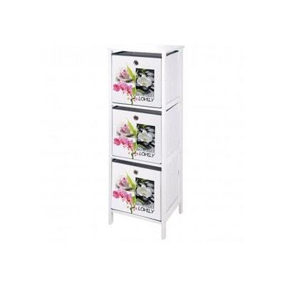 meuble en mdf avec 3 tiroirs intisss zen attitude meuble en mdf avec 3