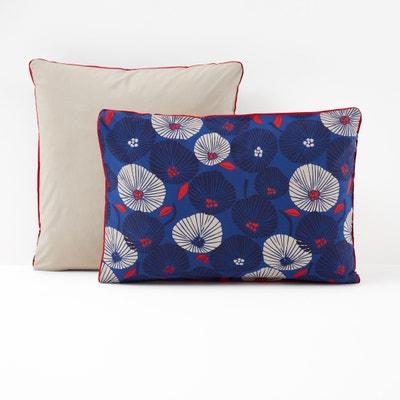Funda de almohada de percal de algodón ENAKO La Redoute Interieurs