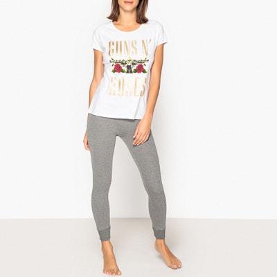 Piżama z krótkim rękawem Guns n' Roses Piżama z krótkim rękawem Guns n' Roses EMOJI