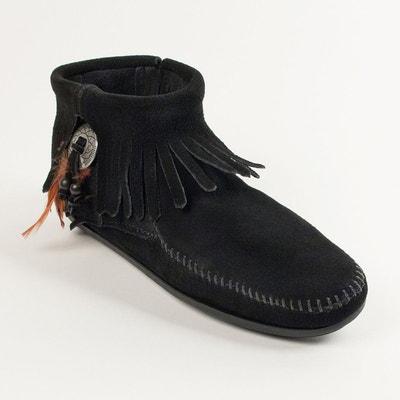 Boots CONCHO FEATHER MINNETONKA