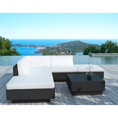 salon de jardin haut de gamme resine tressee la redoute. Black Bedroom Furniture Sets. Home Design Ideas