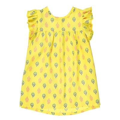 Wzorzysta sukienka, krótki rękaw 1 miesiąc - 3 latka Wzorzysta sukienka, krótki rękaw 1 miesiąc - 3 latka La Redoute Collections