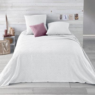 couvre lit blanc - Couverture Lit