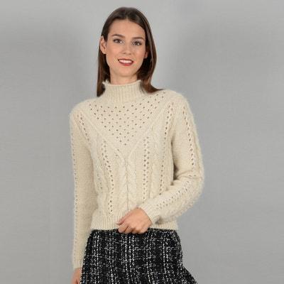 Пуловер-водолазка из тонкого трикотажа Пуловер-водолазка из тонкого трикотажа MOLLY BRACKEN