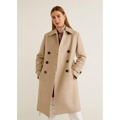 ce5e3008b71bd Manteau en laine à double boutonnage MANGO