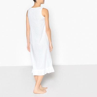 Camisa de dormir com detalhe bordado ANNE WEYBURN