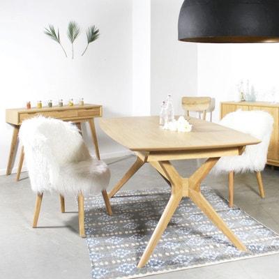Table A Manger Bois Massif En Solde La Redoute