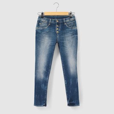 5-Pocket Cotton Jeans, 8 - 16 Years 5-Pocket Cotton Jeans, 8 - 16 Years LE TEMPS DES CERISES