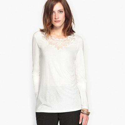 T-shirt guipure, morbidezza e comfort T-shirt guipure, morbidezza e comfort ANNE WEYBURN