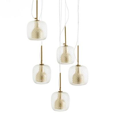 Lámpara de techo con 5 globos, Mistinguett Lámpara de techo con 5 globos, Mistinguett AM.PM.