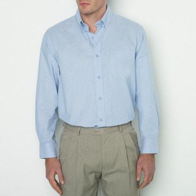 Chemise droite manches longues, stature 2 CASTALUNA FOR MEN