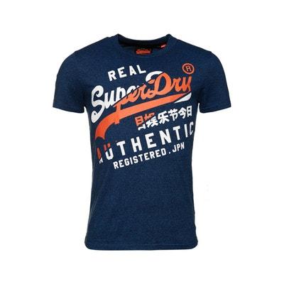 13fe4d7d8581c Tee shirt homme Superdry en solde   La Redoute
