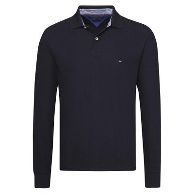 Slim Fit Piqué Polo Shirt Slim Fit Piqué Polo Shirt TOMMY HILFIGER