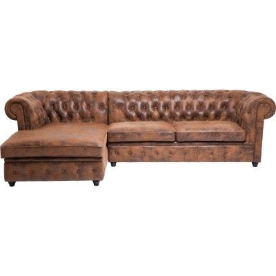Canapé d'angle Oxford Vintage Gauche Kare Design Canapé d'angle Oxford Vintage Gauche Kare Design KARE DESIGN
