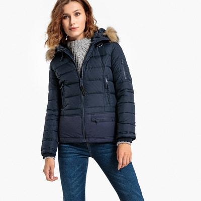 Jkt Lianwx Mid-Length Hooded Padded Jacket Jkt Lianwx Mid-Length Hooded Padded Jacket SCHOTT