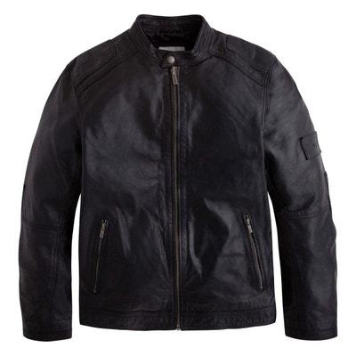Veste en cuir homme moins de 100 euros