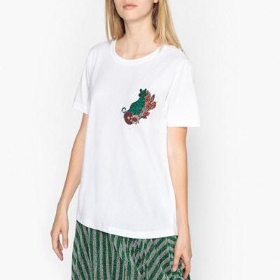 T-shirt col rond motif placé RIGO T-shirt col rond motif placé RIGO ESSENTIEL ANTWERP