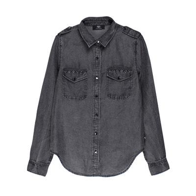 Denim Style Shirt LE TEMPS DES CERISES