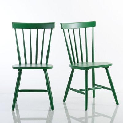 Chaise à barreaux hévéa massif, JIMI (lot de 2) La Redoute Interieurs