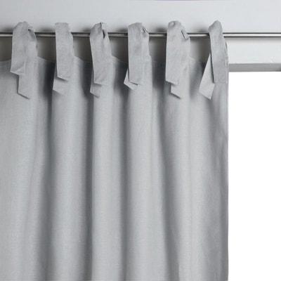 double rideaux bleu la redoute. Black Bedroom Furniture Sets. Home Design Ideas