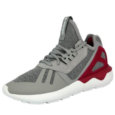 Adidas Originals TUBULAR RUNNER W Chaussures Mode Sneakers Femme Gris  Violet Adidas Originals TUBULAR RUNNER W. Soldes 67699da57a69