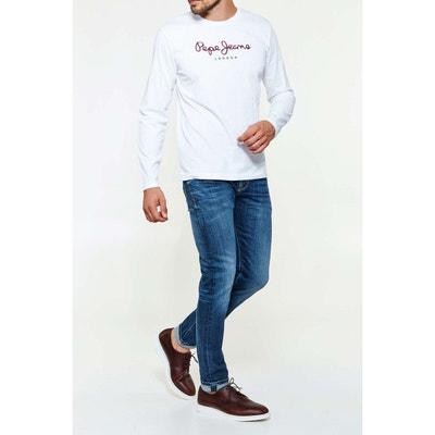 Jeans Pepe Jeans Hatch Bleu Delave Homme Jeans Pepe Jeans Hatch Bleu Delave Homme PEPE JEANS