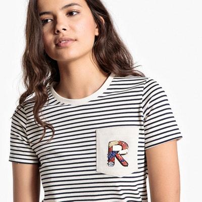 Tee shirt col rond, manches courtes Tee shirt col rond, manches courtes La Redoute Collections