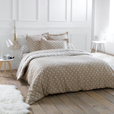 Clarisse 100% Cotton Polka Dot Print Duvet Cover La Redoute Interieurs