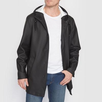 Hooded Raincoat CASTALUNA FOR MEN