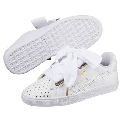Chaussure Puma IKAZ Midv2 Blanche Blanche Femme Baskets