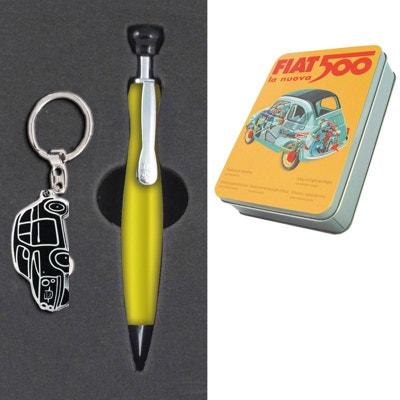 Coffret Stylo et porte clef Fiat 500 FORMIDABLES