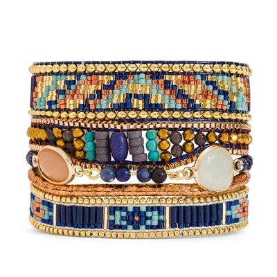 Bracelet femme bleu Lazuli HIPANEMA