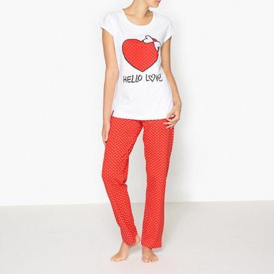 Lovelies 'Hello Love' Printed Pyjamas LOVELIES
