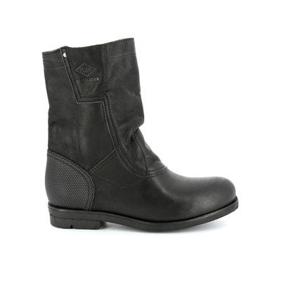 Boots in leer met bandje Dove CML P-L-D-M-BY PALLADIUM