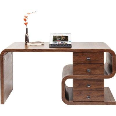 Bureau avec tiroirs Snake Soft noyer 150x70cm Kare Design KARE DESIGN