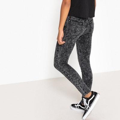 Skinny jeans sneeuweffect, hoge taille Skinny jeans sneeuweffect, hoge taille La Redoute Collections