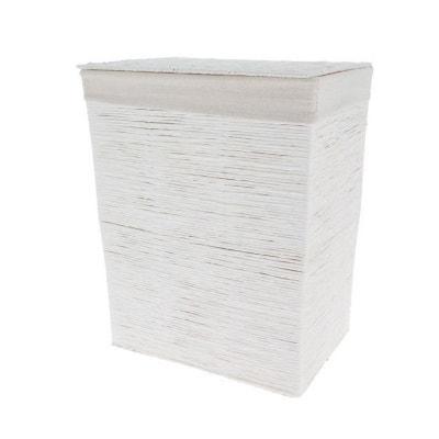"""Panier à linge papier blanc """"Kimo"""" Panier à linge papier blanc """"Kimo"""" COMPACTOR"""