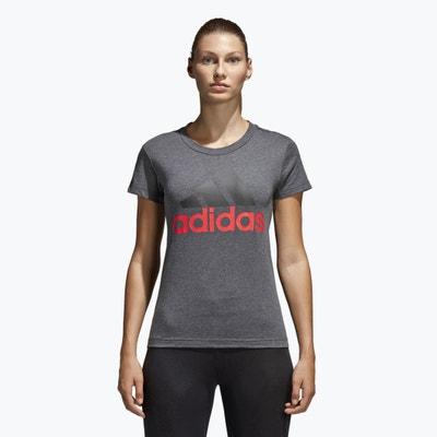 T-shirt de gola redonda, mangas curtas T-shirt de gola redonda, mangas curtas ADIDAS PERFORMANCE