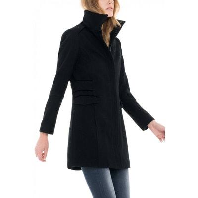 Manteau en étoffe structurée SALSA